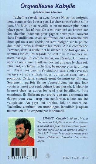 4eme L'ORGUEILLEUSE KABYLIE
