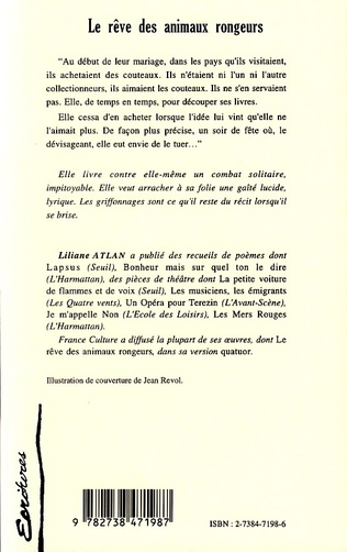 4eme LE RÊVE DES ANIMAUX RONGEURS