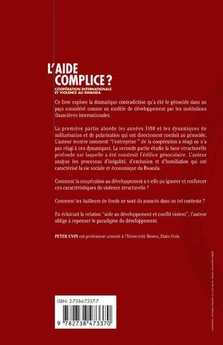 4eme L'AIDE COMPLICE ?