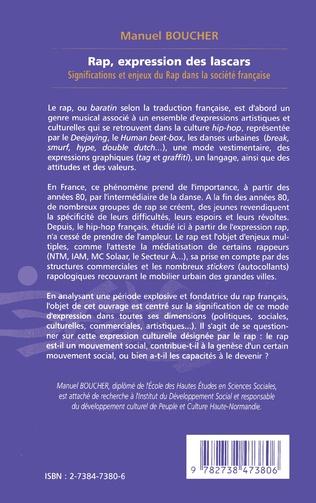 4eme RAP EXPRESSION DES LASCARS