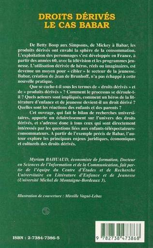 4eme DROITS DERIVES : LE CAS BABAR