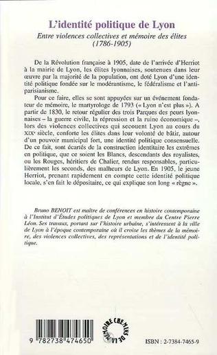 4eme L'IDENTITÉ POLITIQUE DE LYON
