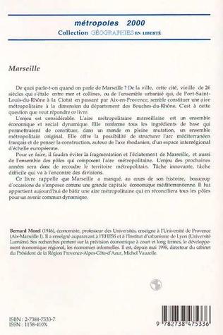 4eme MARSEILLE, NAISSANCE D'UNE MÉTROPOLE