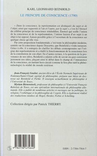 4eme LE PRINCIPE DE CONSCIENCE