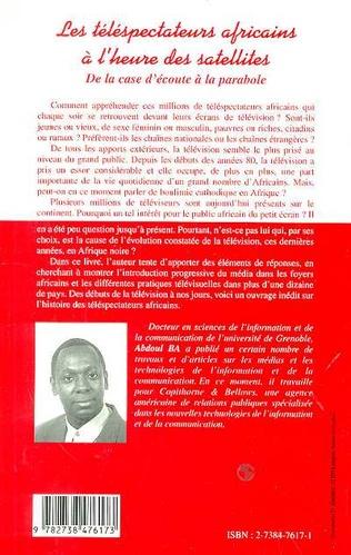 4eme Les téléspectateurs africains à l'heure des satellites