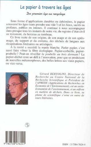4eme LE PAPIER À TRAVERS LES AGES