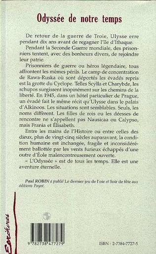 4eme ODYSSEE DE NOTRE TEMPS
