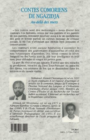 4eme CONTES COMORIENS DE NGAZIDJA
