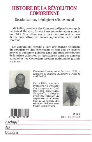 4eme HISTOIRE DE LA RÉVOLUTION COMORIENNE