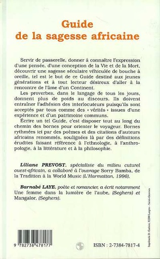 4eme GUIDE DE LA SAGESSE AFRICAINE