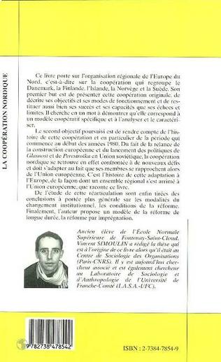 4eme LA COOPÉRATION NORDIQUE