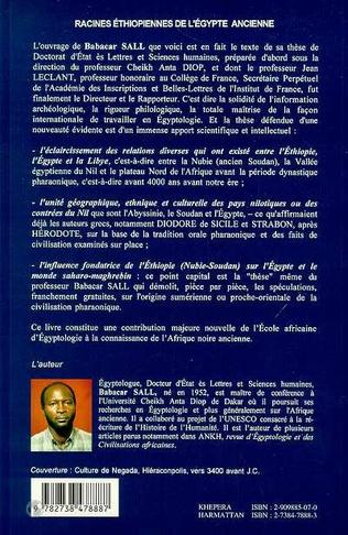 4eme RACINES ÉTHIOPIENNES DE L'EGYPTE ANCIENNE