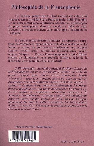 4eme Philosophie de la francophonie