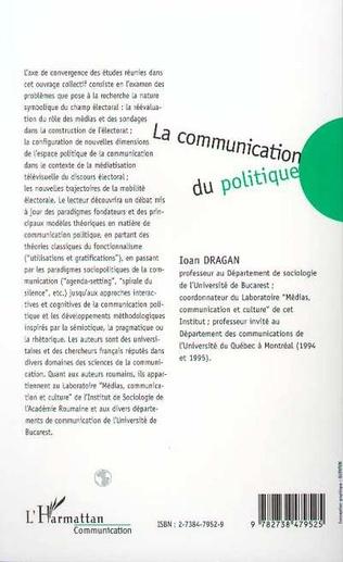 4eme LA COMMUNICATION DU POLITIQUE