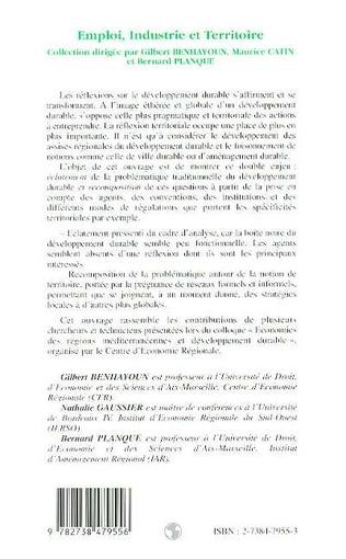 4eme L'ANCRAGE TERRITORIAL DU DÉVELOPPEMENT DURABLE