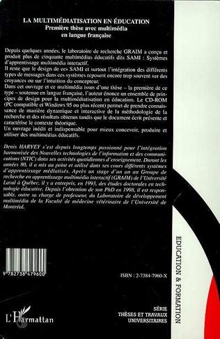 4eme LA MULTIMEDIATISATION EN EDUCATION