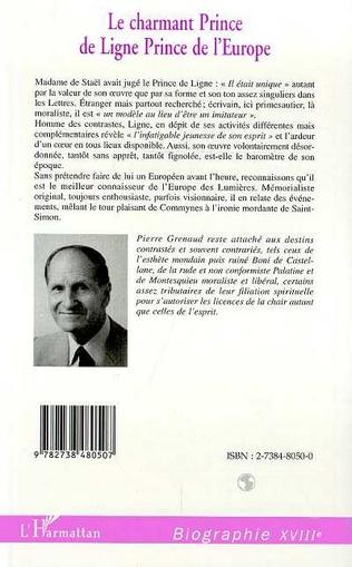 4eme LE CHARMANT PRINCE DE LIGNE, PRINCE DE L'EUROPE