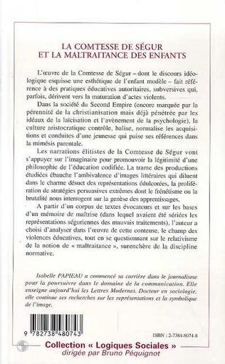 4eme LA COMTESSE DE SEGUR ET LA MALTRAITANCE DES ENFANTS