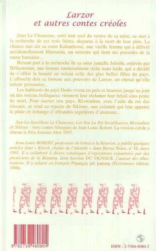 4eme LARZOR et autres contes créoles