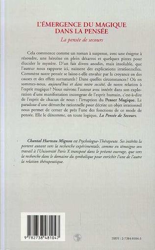 4eme L'EMERGENCE DU MAGIQUE DANS LA PENSEE