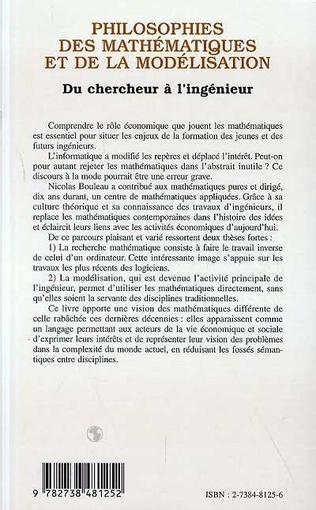 4eme Philosophies des mathématiques et de la modélisation