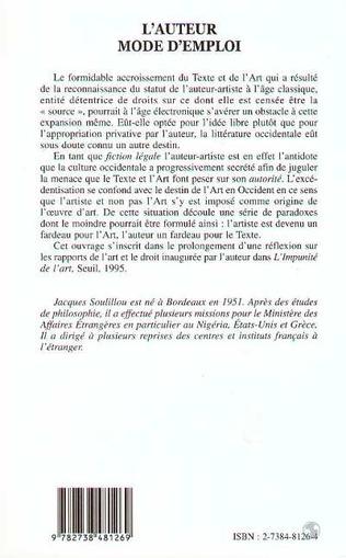 4eme L'AUTEUR MODE D'EMPLOI