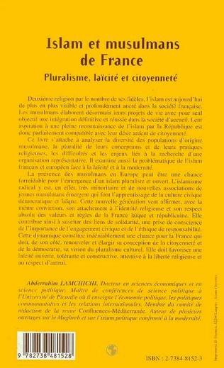 4eme ISLAM ET MUSULMANS DE FRANCE