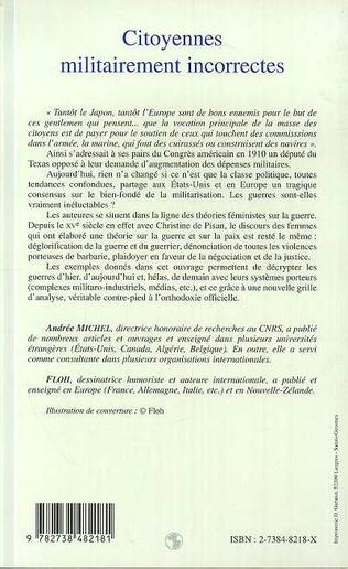 4eme CITOYENNES MILITAIREMENT INCORRECTES