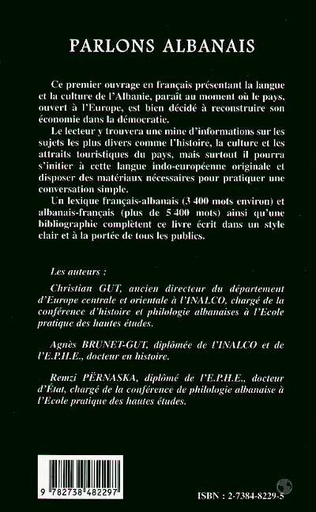 4eme PARLONS ALBANAIS