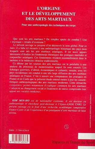 4eme L'ORIGINE ET LE DEVELOPPEMENT DES ARTS MARTIAUX