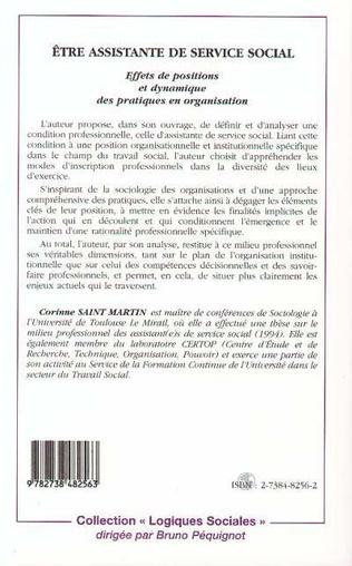 4eme ETRE ASSISTANTE DE SERVICE SOCIAL