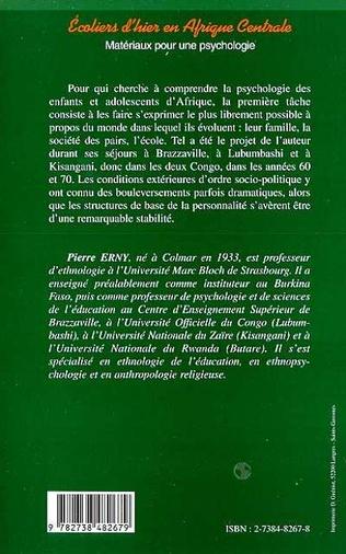 4eme ECOLIERS D'HIER EN AFRIQUE CENTRALE