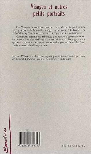 4eme VISAGES ET AUTRES PETITS PORTRAITS