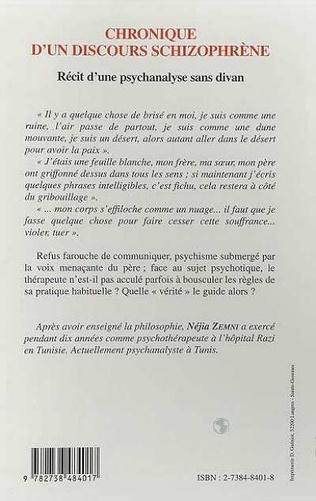 4eme CHRONIQUE D'UN DISCOURS SCHIZOPHRÈNE