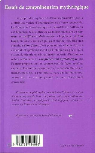 4eme ESSAIS DE COMPRÉHENSION MYTHOLOGIQUE