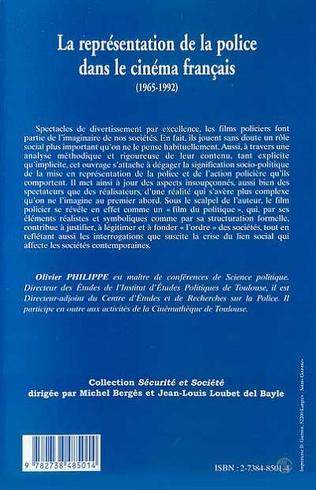4eme LA REPRÉSENTATION DE LA POLICE DANS LE CINÉMA FRANÇAIS (1965-1992)