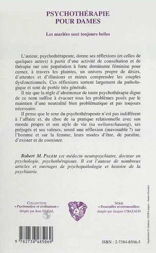 4eme PSYCHOTHERAPIE POUR DAMES