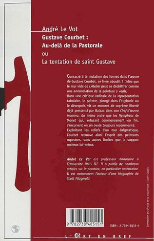4eme GUSTAVE COURBET : AU-DELA DE LA PASTORALE