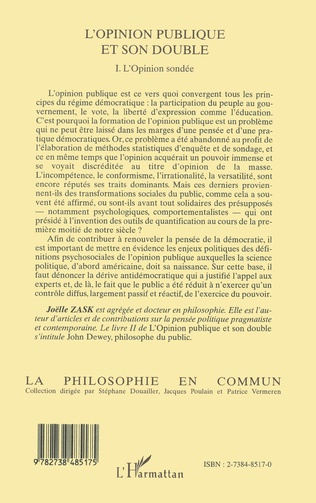 4eme L'OPINION PUBLIQUE ET SON DOUBLE