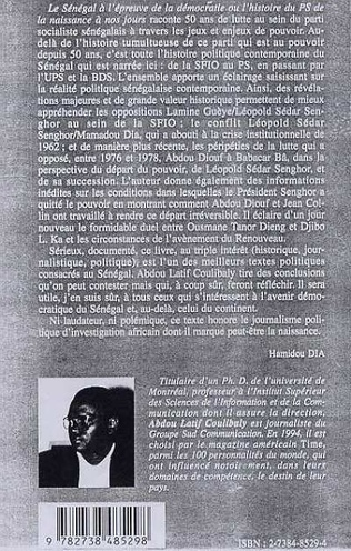 4eme LE SENEGAL A L'EPREUVE DE LA DEMOCRATIE