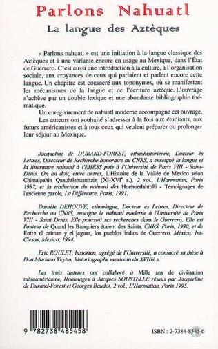 4eme PARLONS NAHUATL