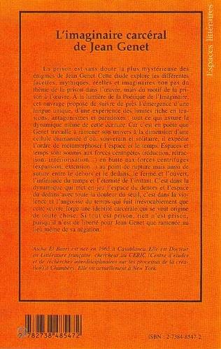 4eme L'IMAGINAIRE CARCERAL DE JEAN GENET