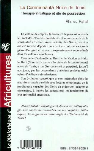 4eme La communauté noire de Tunis
