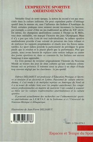 4eme L'EMPREINTE SPORTIVE AMERINDIENNE