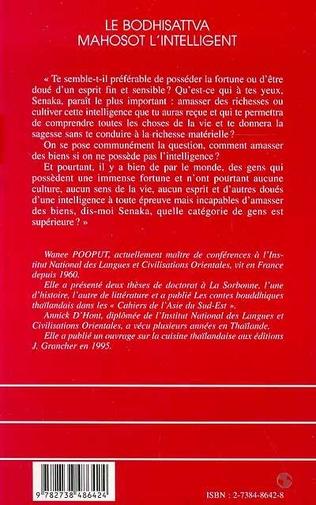 4eme LE BODHISATTVA MAHOSOT L'INTELLIGENT