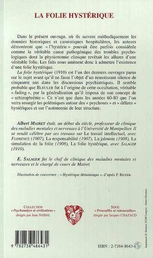 4eme LA FOLIE HYSTERIQUE