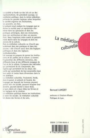 4eme LA MEDIATION CULTURELLE
