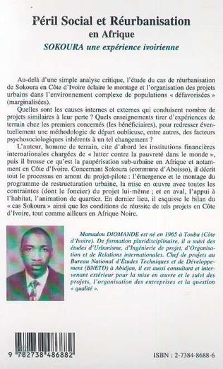 4eme PÉRIL SOCIAL ET RÉURBANISATION EN AFRIQUE