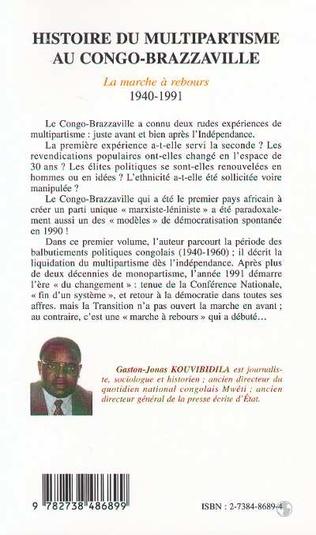 4eme HISTOIRE DU MULTIPARTISME AU CONGO-BRAZZAVILLE