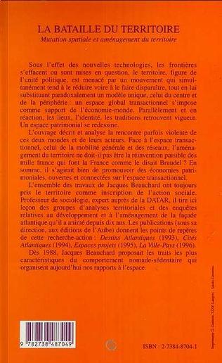 4eme LA BATAILLE DU TERRITOIRE